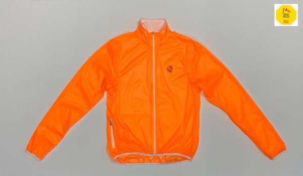 Mantellina antivento Windy Road Jacket Orange